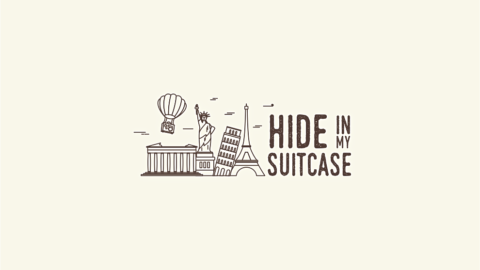 Hide in my suitcase